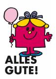 Postkarte »Alles Gute (Miss Geburtstag)«, EAN 42-80000-63204-3