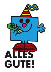 Postkarte »Alles Gute (Mister Geburtstag)«, EAN 42-80000-63203-6