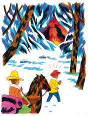 Seite aus »Der Bandit mit dem goldenen Colt«