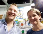 Johannes und Susanna Rieder auf der Frankfurter Buchmesse 2015