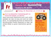 Florian Mitgutsch beim Kindermagazin Kakadu im Deutschlandradio