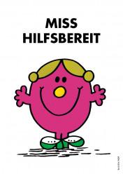 Postkarte »Miss Hilfsbereit«, EAN 42-80000-632142