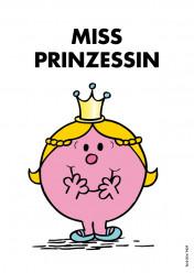 Postkarte »Miss Prinzessin«, EAN 42-80000-632128