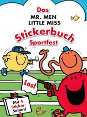 Das Mr. Men Little Miss Stickerbuch– Sportfest, ISBN 978-3-943919-45-5